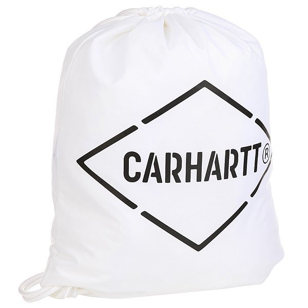 Мешок Carhartt Wip Diamond Script Bag White/Black