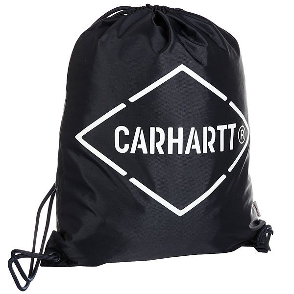 Мешок Carhartt WIP Wip Diamond Script Bag Navy/White