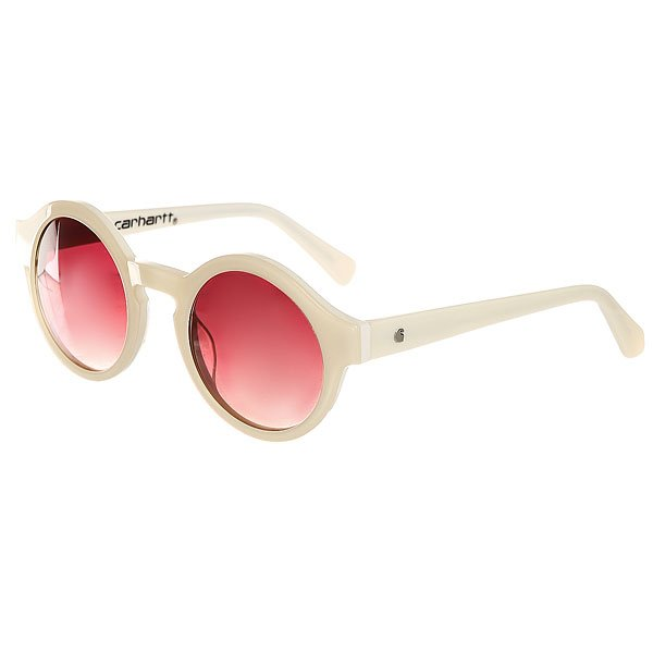 Очки Carhartt WIP Wip Fox Sunglasses White/Pink Gradient Lenses