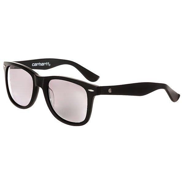 Очки Carhartt Wip Dearborn Sunglasses Black Matte/Silver Mirrored Lenses