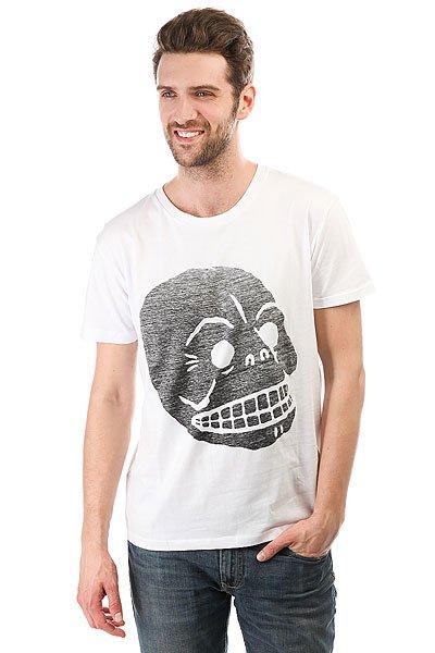 Футболка Cheap Monday Standard Filled Skull White