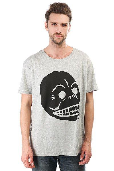 Футболка Cheap Monday Standard Filled Skull Sport Melange