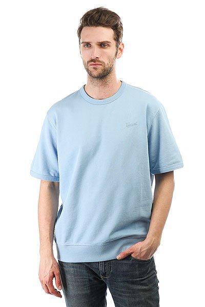 Толстовка классическая Carhartt Strike Sweatshirt Glacier<br><br>Цвет: голубой<br>Тип: Толстовка классическая<br>Возраст: Взрослый<br>Пол: Мужской