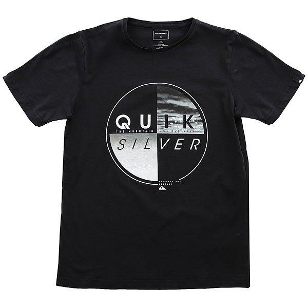 Футболка детская Quiksilver Sscltyoutblazed Black<br><br>Цвет: черный<br>Тип: Футболка<br>Возраст: Детский