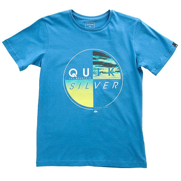 Футболка детская Quiksilver Sscltyoutblazed Vallarta Blue<br><br>Цвет: синий<br>Тип: Футболка<br>Возраст: Детский