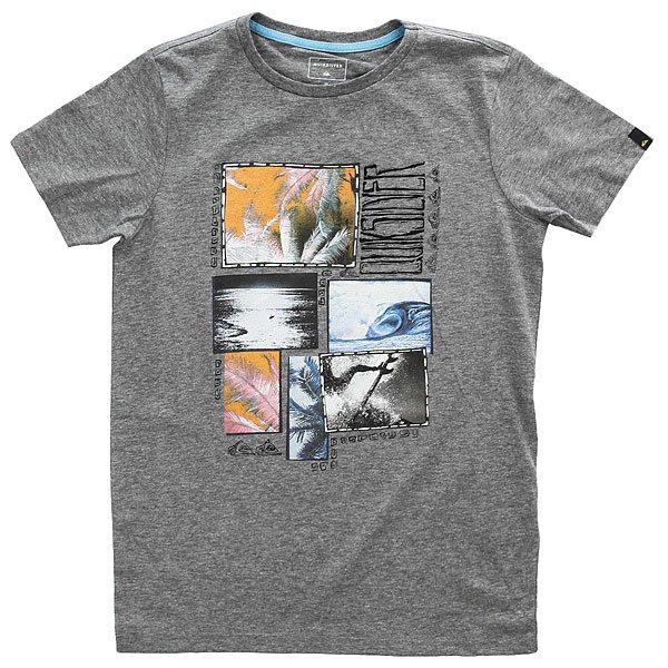 Футболка детская Quiksilver Sshetteythparfo Medium Grey Heather футболка детская quiksilver teessyouteaglne golden spice