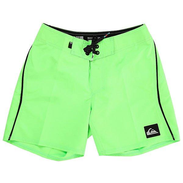 Шорты пляжные детские Quiksilver Everydkaimyth14 Green Gecko<br><br>Цвет: зеленый<br>Тип: Шорты пляжные<br>Возраст: Детский