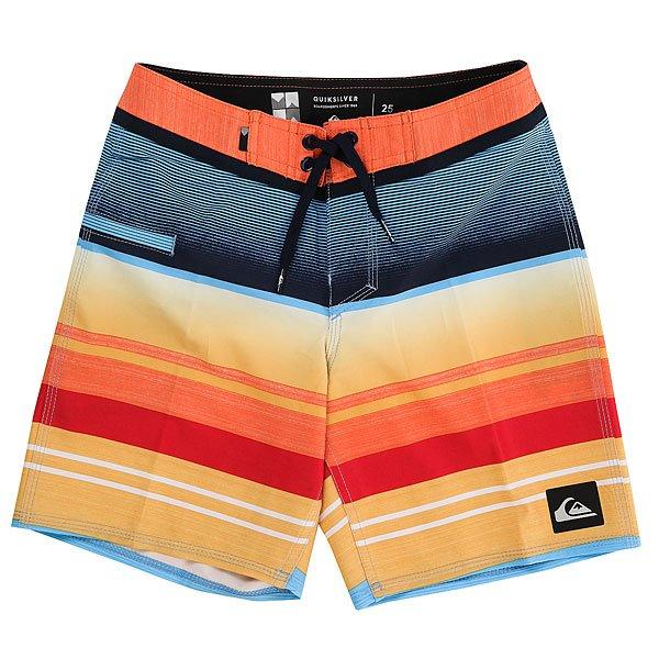 Шорты пляжные детские Quiksilver Everstripvyth15 Nasturticm<br><br>Цвет: мультиколор<br>Тип: Шорты пляжные<br>Возраст: Детский