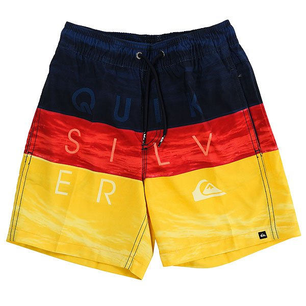 Шорты пляжные детские Quiksilver Wordwavesvlb12 Nasturticm сумка дорожная quiksilver horizon nasturticm everyday