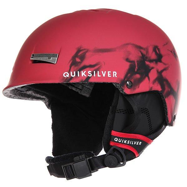 Шлем для сноуборда Quiksilver Skylab Highdye Red