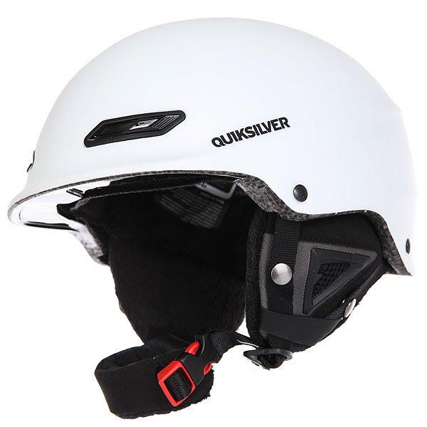 Шлем для сноуборда Quiksilver Wildcat Bright White<br><br>Цвет: белый<br>Тип: Шлем для сноуборда<br>Возраст: Взрослый<br>Пол: Мужской