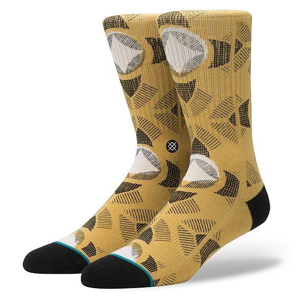 Носки высокие Stance Stance Blue Cancun Gold<br><br>Цвет: коричневый<br>Тип: Носки высокие<br>Возраст: Взрослый<br>Пол: Мужской
