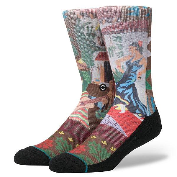 Носки высокие Stance Blue Serenade Multi<br><br>Цвет: мультиколор<br>Тип: Носки высокие<br>Возраст: Взрослый<br>Пол: Мужской