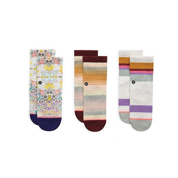 Комплект носков детский Stance Jiggy Box Set Multi<br><br>Цвет: мультиколор<br>Тип: Комплект носков<br>Возраст: Детский