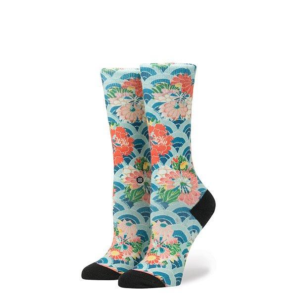 Носки высокие женские Stance Ichiban Multi<br><br>Цвет: мультиколор<br>Тип: Носки высокие<br>Возраст: Взрослый<br>Пол: Женский