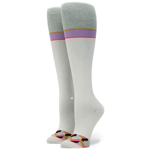 Носки низкие женские Stance Spaz White<br><br>Цвет: белый,серый<br>Тип: Носки низкие<br>Возраст: Взрослый<br>Пол: Женский