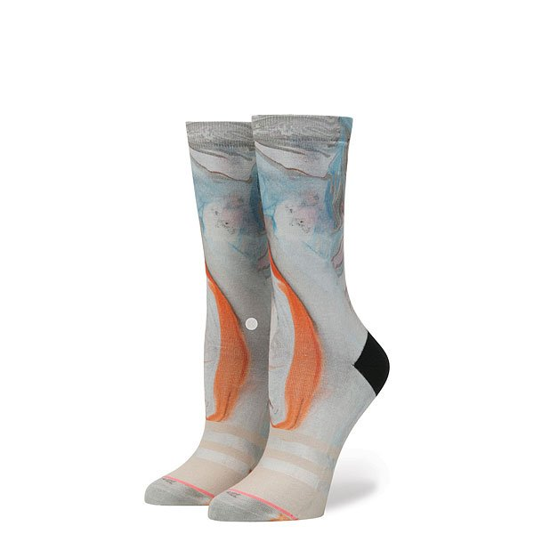 Носки высокие женские Stance Morning Marble Grey носки stance носки ж reserve womens morning marble ss17