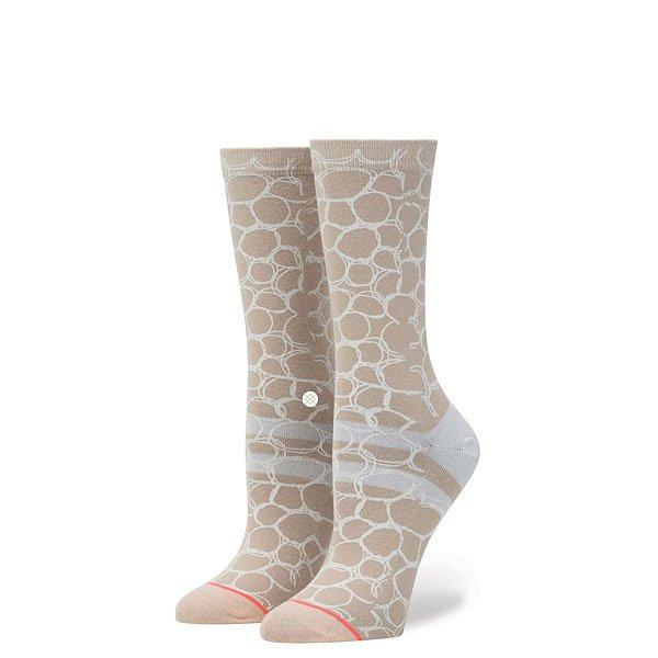 Носки высокие женские Stance Uzu Khaki<br><br>Цвет: розовый<br>Тип: Носки высокие<br>Возраст: Взрослый<br>Пол: Женский
