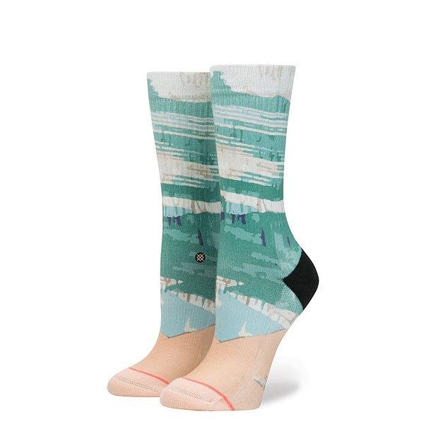 Носки высокие женские Stance Village Khaki<br><br>Цвет: голубой<br>Тип: Носки высокие<br>Возраст: Взрослый<br>Пол: Женский