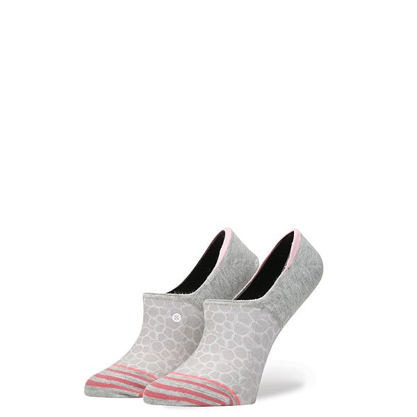 Носки низкие женские Stance Zen Circle Grey<br><br>Цвет: розовый<br>Тип: Носки низкие<br>Возраст: Взрослый<br>Пол: Женский