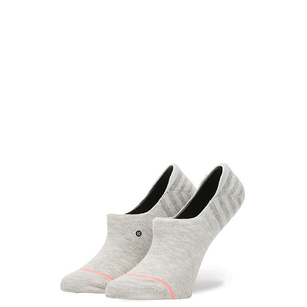 Носки низкие женские Stance Solids Uncommon Super Invisib Grey