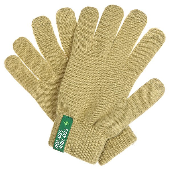 Перчатки TrueSpin Touchgloves BeigeПрактичные и весьма универсальные перчатки TrueSpin, выполненные из мягкой пряжи на основе акрила. Традиционная форма с пятью пальцами дополнена эластичными манжетами, обеспечивающими оптимальную посадку и специальным напылением, позволяющим пользоваться гаджетами с сенсорным экраном не снимая их с рук. Перчатки представлены в однотонной расцветке, которая станет приятным дополнением к любому образу.Характеристики:Акриловая пряжа. Традиционная форма. Эластичные манжеты. Пальцы со специальным напылением для сенсорных экранов. Однотонная расцветка.<br><br>Цвет: бежевый<br>Тип: Перчатки<br>Возраст: Взрослый<br>Пол: Мужской