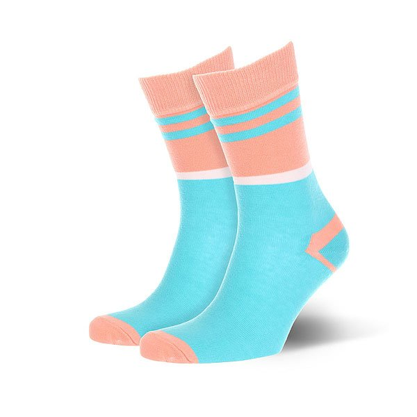 Носки средние Sammy Icon Grimsby<br><br>Цвет: розовый,голубой<br>Тип: Носки средние<br>Возраст: Взрослый<br>Пол: Женский