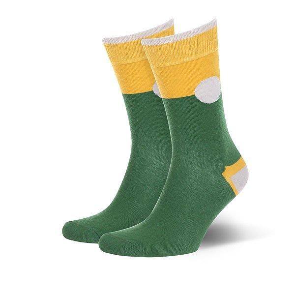 Носки средние Sammy Icon Corby<br><br>Цвет: зеленый,желтый<br>Тип: Носки средние<br>Возраст: Взрослый<br>Пол: Мужской