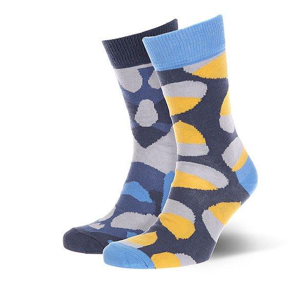 Носки средние Sammy Icon Oakheart Multicolor<br><br>Цвет: синий,голубой,желтый,серый<br>Тип: Носки средние<br>Возраст: Взрослый<br>Пол: Женский