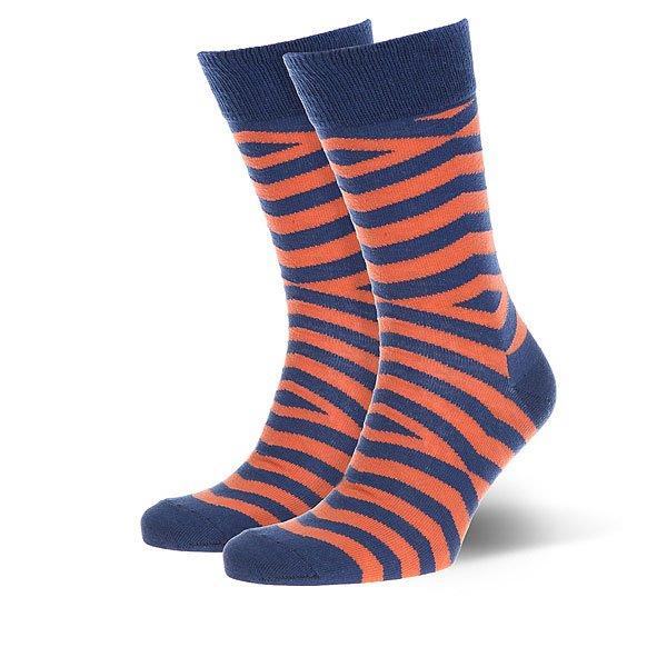 Носки средние Sammy Icon Foster Navy/Orange<br><br>Цвет: оранжевый,синий<br>Тип: Носки средние<br>Возраст: Взрослый<br>Пол: Женский