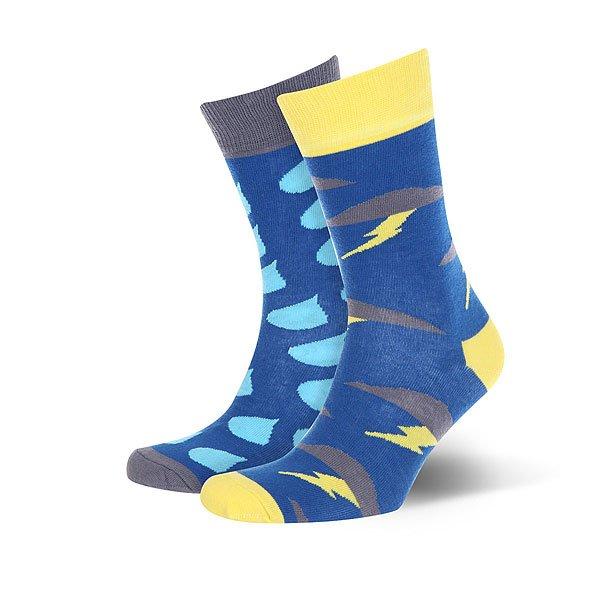 Носки средние Sammy Icon Downpour Blue<br><br>Цвет: синий,голубой,желтый<br>Тип: Носки средние<br>Возраст: Взрослый<br>Пол: Мужской