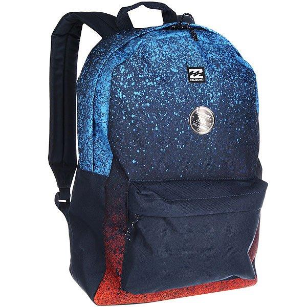 Рюкзак городской Billabong All Day Pack MultiВесь день, каждый день! Рюкзак для работы, учебы или пляжного отдыха. Классический дизайн с одним отделением, в которое можно сложить все, что угодно.Технические характеристики: Большое основное отделение.Передний карман на молнии.Мягкие регулируемые лямки.<br><br>Цвет: синий,оранжевый,голубой<br>Тип: Рюкзак городской<br>Возраст: Взрослый