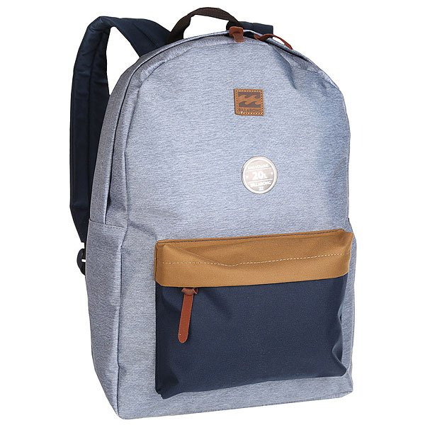 Рюкзак городской Billabong All Day Pack Grey Heather/Navy