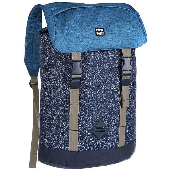 Рюкзак туристический Billabong Track Pack NavyИдеальный рюкзак для спонтанной поездки. Открывайте новые дороги с функциональным рюкзаком Track Pack!Технические характеристики: Основное отделение на застежке-утяжке.Карман для ноутбука с внешним доступом.Карман на клапане.Мягкие ремни с регулировкой.<br><br>Цвет: синий,голубой<br>Тип: Рюкзак туристический<br>Возраст: Взрослый