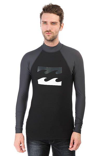 Гидрофутболка Billabong Team Waves Ls Black