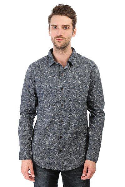 Рубашка Billabong Seedling Shirt Ls Navy<br><br>Цвет: синий,белый<br>Тип: Рубашка<br>Возраст: Взрослый<br>Пол: Мужской