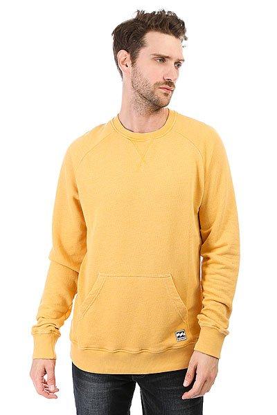 Толстовка кенгуру Billabong D Bah Bright Gold<br><br>Цвет: желтый<br>Тип: Толстовка кенгуру<br>Возраст: Взрослый<br>Пол: Мужской