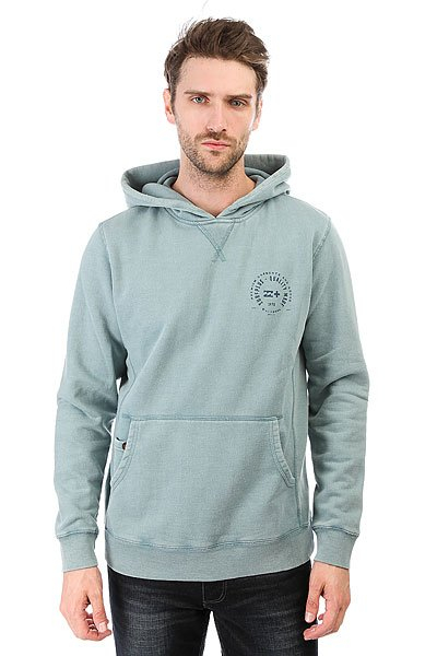 Толстовка кенгуру Billabong Pullover Wave Wash Light Steel