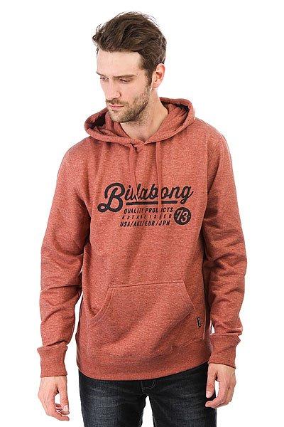 Толстовка кенгуру Billabong Saddle Hood Red Clay<br><br>Цвет: коричневый<br>Тип: Толстовка кенгуру<br>Возраст: Взрослый<br>Пол: Мужской