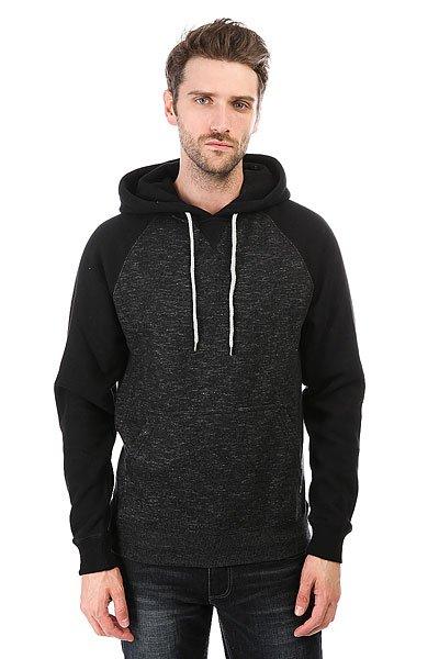 Толстовка кенгуру Billabong Balance Pullover Black Heather<br><br>Цвет: черный,серый<br>Тип: Толстовка кенгуру<br>Возраст: Взрослый<br>Пол: Мужской