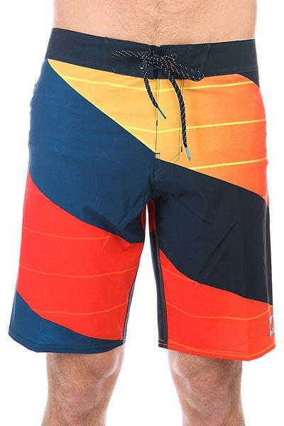 Шорты пляжные Billabong Prodigy X 20 Red<br><br>Цвет: синий,оранжевый<br>Тип: Шорты пляжные<br>Возраст: Взрослый<br>Пол: Мужской