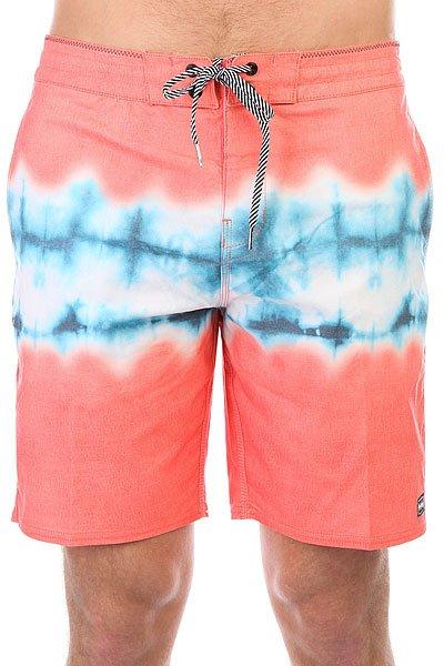 Шорты пляжные Billabong Riot Lt 18 Red<br><br>Цвет: розовый,голубой<br>Тип: Шорты пляжные<br>Возраст: Взрослый<br>Пол: Мужской
