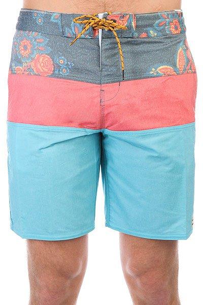 Шорты пляжные Billabong Tribong Lt18 Blue<br><br>Цвет: голубой,розовый<br>Тип: Шорты пляжные<br>Возраст: Взрослый<br>Пол: Мужской