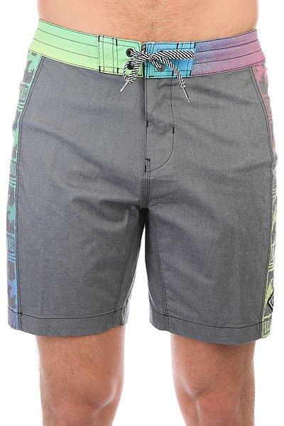 Шорты пляжные Billabong Re-issue Lt 18 Black<br><br>Цвет: серый,мультиколор<br>Тип: Шорты пляжные<br>Возраст: Взрослый<br>Пол: Мужской