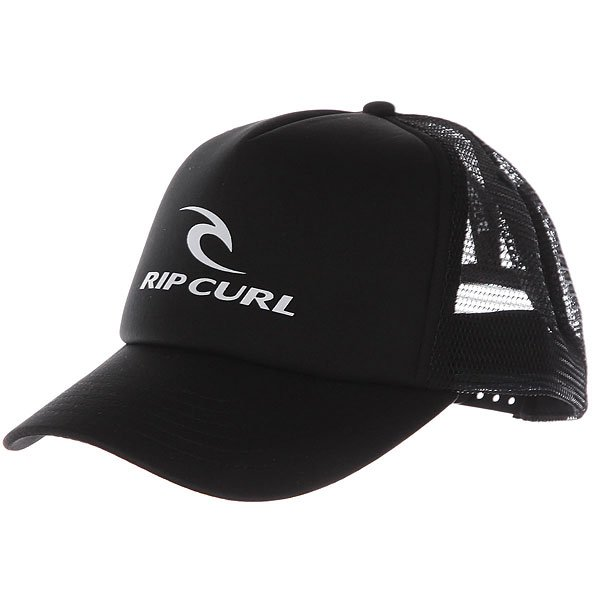 Бейсболка с сеткой Rip Curl Rc Corporate Trucker Black<br><br>Цвет: черный<br>Тип: Бейсболка с сеткой<br>Возраст: Взрослый