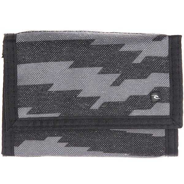 Кошелек Rip Curl Print Surf Black<br><br>Цвет: серый,черный<br>Тип: Кошелек<br>Возраст: Взрослый<br>Пол: Мужской