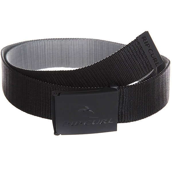 Ремень Rip Curl Ripping Revo Webbed Belt Black