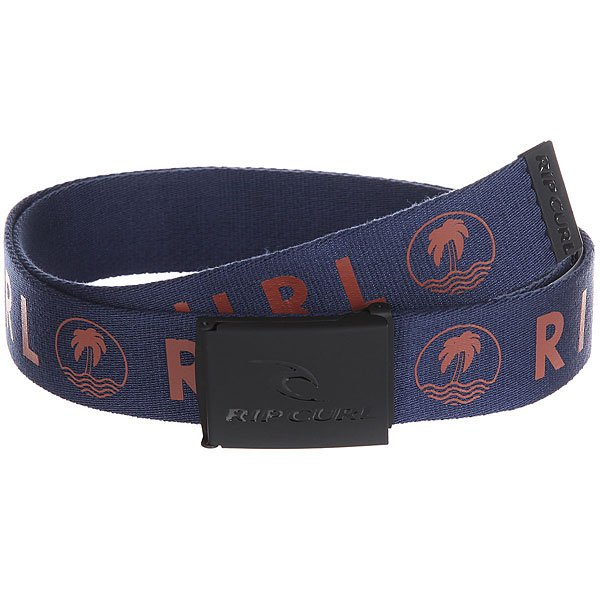Ремень Rip Curl Undertow Revo Webbed Belt Navy