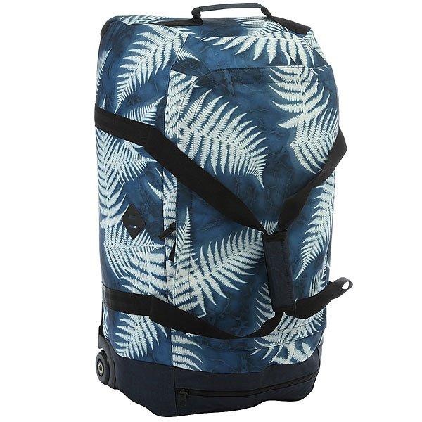 Сумка дорожная женская Rip Curl Westwind Jupiter BlueВместительная и мобильная сумка-чемодан для ваших путешествий.Характеристики:Вместительное внутреннее отделение. Боковые карманы. Выдвижная телескопическая ручка. Две широкие лямки для переноски. Роликовые колесики для транспортировки.<br><br>Цвет: синий,белый<br>Тип: Сумка дорожная<br>Возраст: Взрослый<br>Пол: Женский