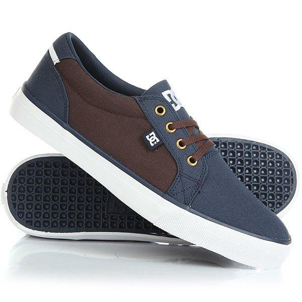 Кеды кроссовки низкие DC Council Tx Navy/Dk Chocolate dc men s council mid tx skate shoe